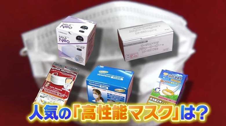 新型肺炎対策で注目「高性能マスク」の売れ筋は? お椀型・なめらか素材・医療現場で使用も