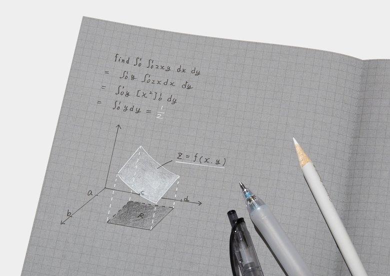 """灰色のページに「白と黒で書くノート」をコクヨ発売…明暗のコントラストで見やすい""""新感覚"""""""