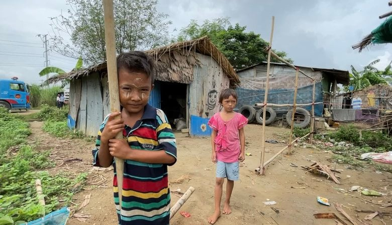 「『お腹がすいた』と泣く子には野草を摘んで」全人口の半数が貧困層に...深刻さを増すミャンマー困窮の現場