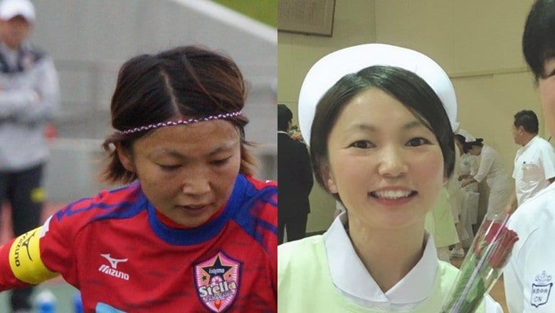なでしこトップ選手から30歳で転身。コロナ禍の新人看護師が日本代表に送ったエール