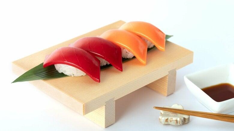 """""""ネタ""""じゃない「寿司プラモ」にネット騒然…シャリ364粒をどう組み立てる? リアル感を出すコツを聞いた"""