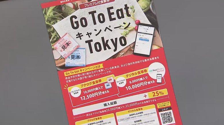 東京のGoToイート食事券スタート…感染最多の中「会食して大丈夫?」小池知事と菅首相は感染予防の徹底呼びかけ