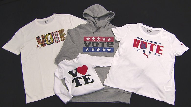 バイデン氏の追い風となるか?「VOTE」ファッションが大統領選目前のNYの街にあふれる理由