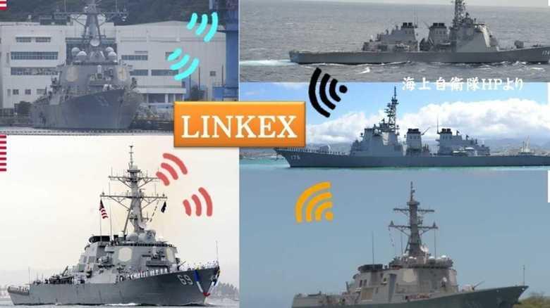 日米韓のイージス艦情報共有訓練は太平洋をまたいで実施された