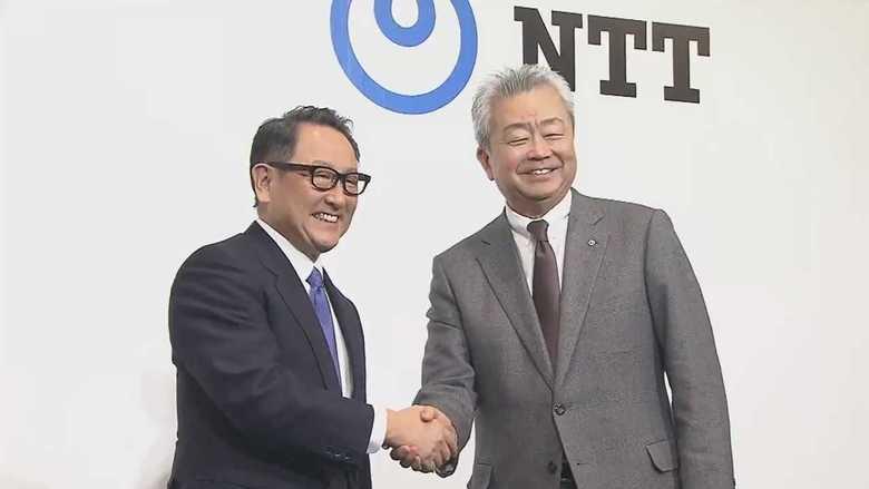 トヨタとNTTが「スマートシティー」で資本業務提携