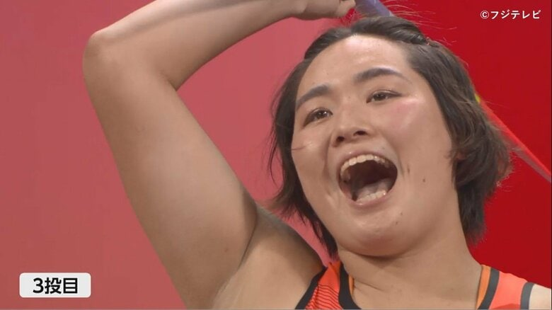 陸上女子やり投げの北口榛花は日本勢57年ぶり決勝で涙