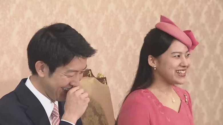 「初対面から惹かれあった」高円宮家の絢子さま婚約内定会見全容