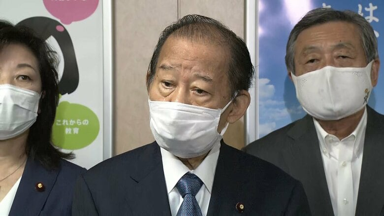 二階幹事長「正直びっくり」「ずいぶん活躍をなさった」菅首相 総裁選不出馬で