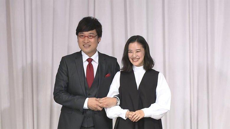 ツーショット結婚会見「夢かと思った」 山里亮太さん 蒼井優さん