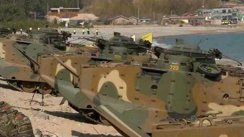 日韓合同軍事演習開始で  北朝鮮、軍事的挑発の可能性