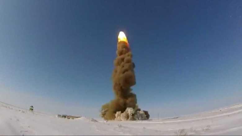 ロシアがICBM迎撃用の新型ミサイル発射試験を実施