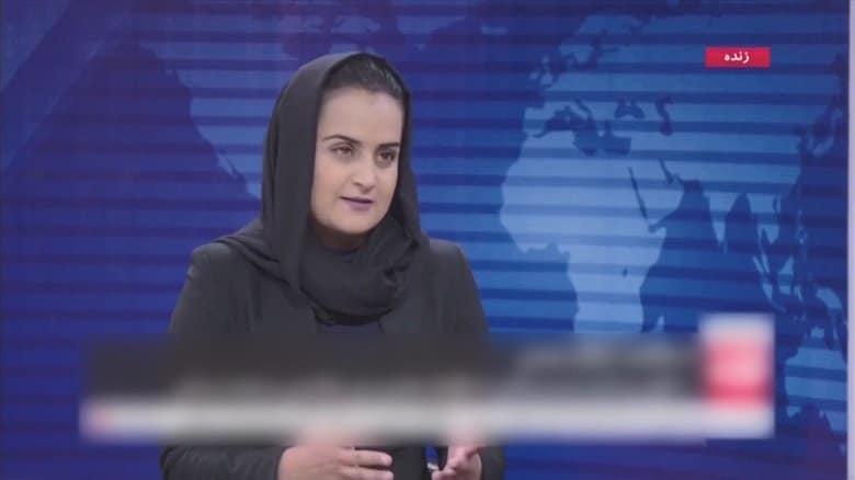 女性キャスターと出演 タリバンは変わった? 「アフガンの女性はここにいる」女性たちが権利訴え