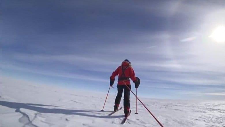 「夢を追う男であり続けたい」と話す青年冒険家は、悲願の南極点到達を成し遂げられるのか