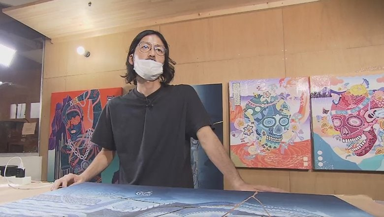 若手アーティストに光…難航しがちな作品販売を手助けする新たな取組