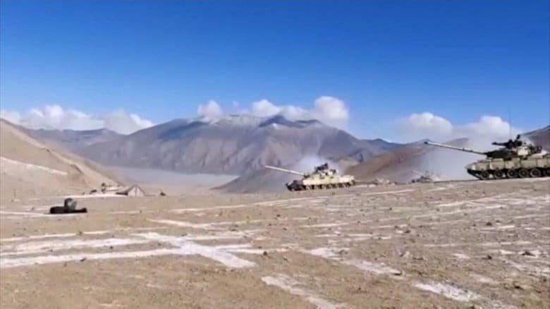 中国軍・インド軍衝突 中国側に5人の死傷者