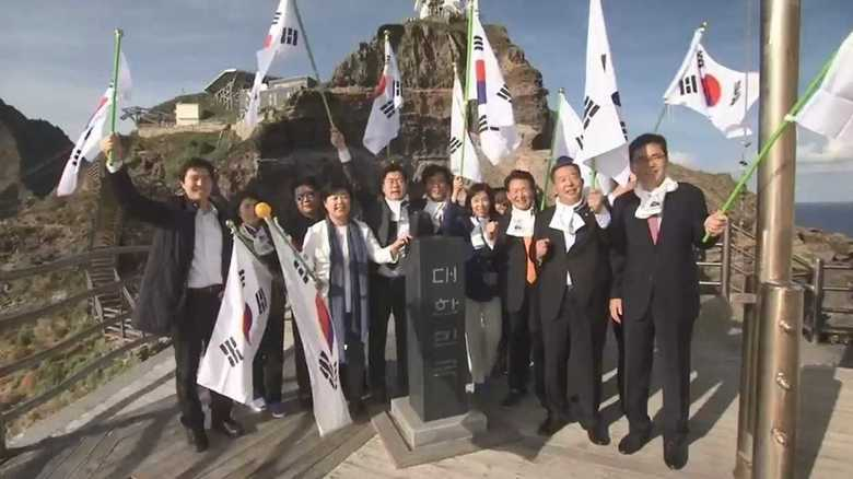 「蟻の一穴になるぞ!」竹島への韓国議員不法上陸に怒り爆発 自民党が日韓協議を政府側に要求
