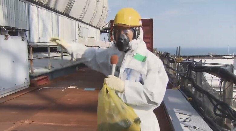 事故から10年 福島第一原発3号機建屋の今…廃炉への長い道のりを示す3つの数字