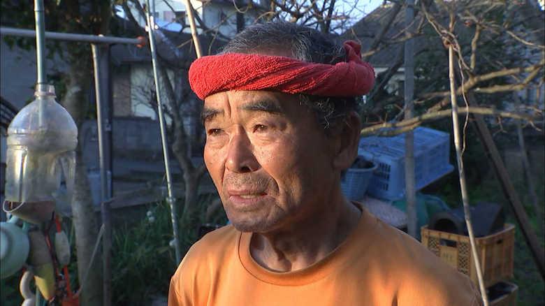 """スーパーボランティア・尾畠春夫さん """"復興""""の思い胸に運ぶ聖火 「みんなが喜ぶことを...」"""