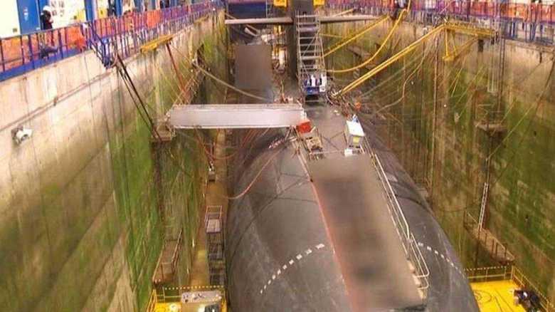 仏・ミサイル原潜「ヴィジラン」の映像公開
