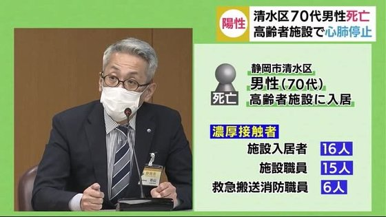 静岡 市 清水 区 コロナ 感染 者