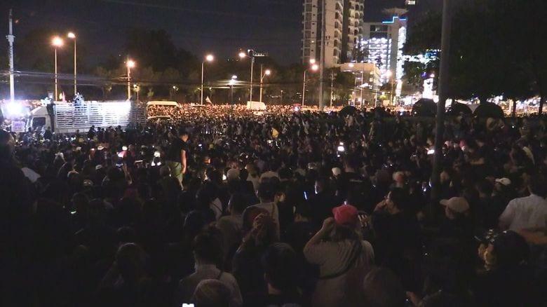 タイ反政府集会でまた銃撃…緊迫化も収拾の見通し立たず