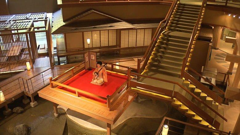"""まるで「無限城」な旅館・大川荘に鬼滅ファン歓喜…近くには""""鬼の伝説""""も残る"""