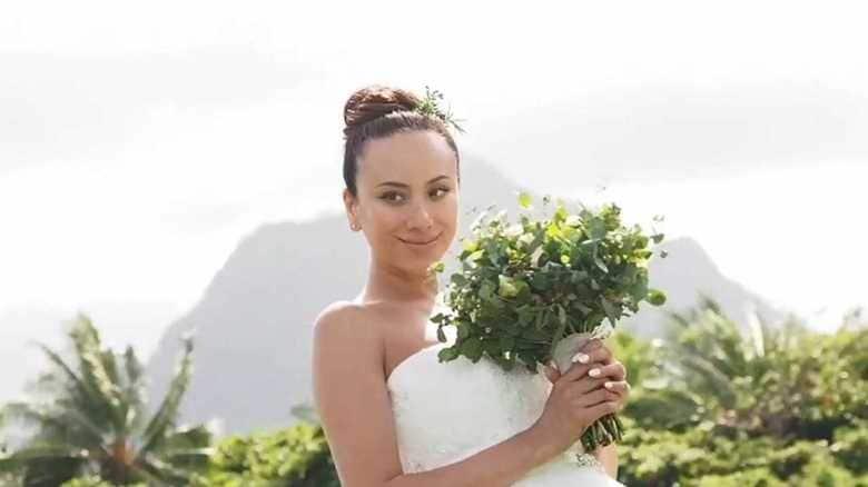 道端アンジェリカ ハワイの大自然の中で…幸せいっぱいウェディング