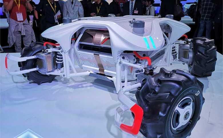 見た目だけでは理解不能な車も 時代先取り感が半端ない東京モーターショー