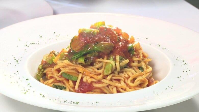 市場に流通しない「ハート型トマト」のペーストで作る特別なイタリアン…コロナ禍で生産者の兄とシェフの弟がタッグ