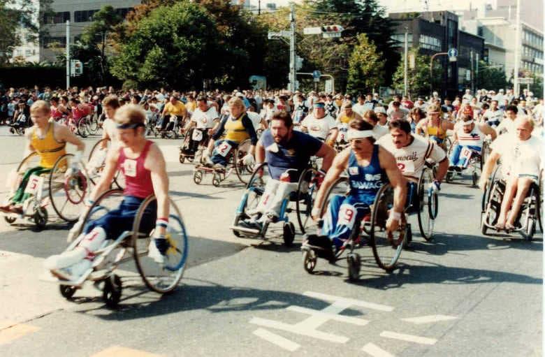 健常者と障がい者が同じ大会で競い合える社会になれたら・・・ 30年前から真のダイバーシティーを目指した男