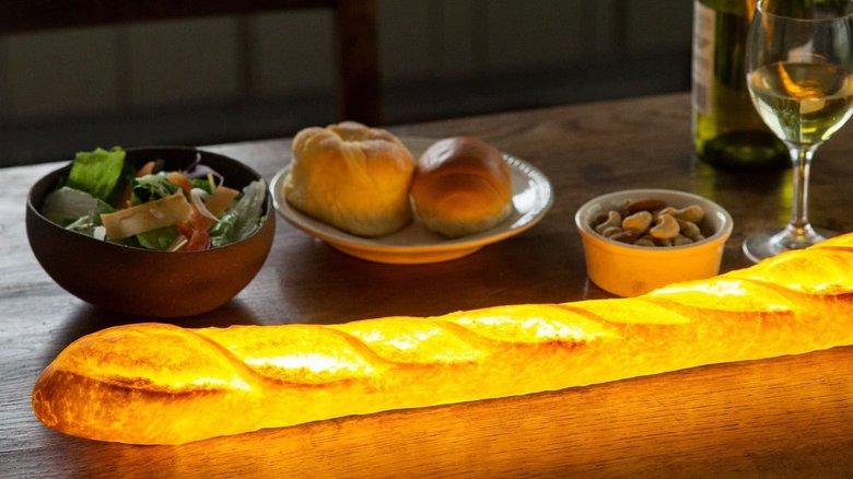 本物のパンを使ったライト「パンプシェード」が幻想的…どう加工しているのか聞いてみた