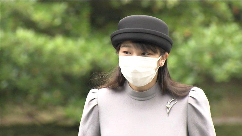 「香淳皇后例祭の儀」に臨まれた眞子さま 5カ月ぶりの皇室行事で報道陣に見せられた表情