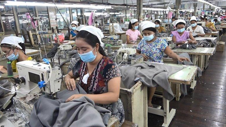 「日本からの発注すべて止まった」雇い止めに経営危機 ミャンマー最大の輸出産業の苦境