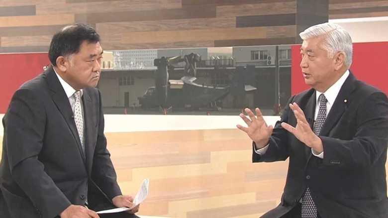 中谷元・元防衛相 「東京にオスプレイの配備は必要」