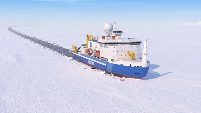日本初!北極の氷を進める「砕氷研究船」を新造…大きさ1万トン超の性能をJAMSTECに聞いた