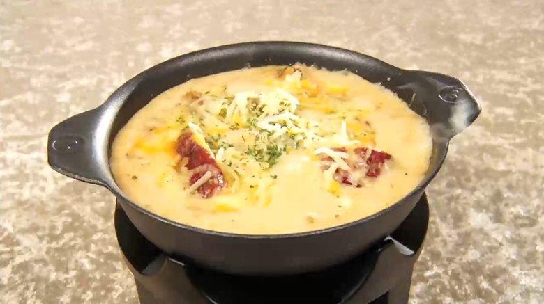 ジョージアの郷土料理「シュクメルリ」 鶏肉にニンニクが効いた松屋の大人気定食が復活