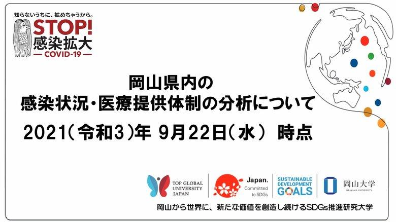 岡山県内の感染状況・医療提供体制の分析について(2021年9月22日時点)