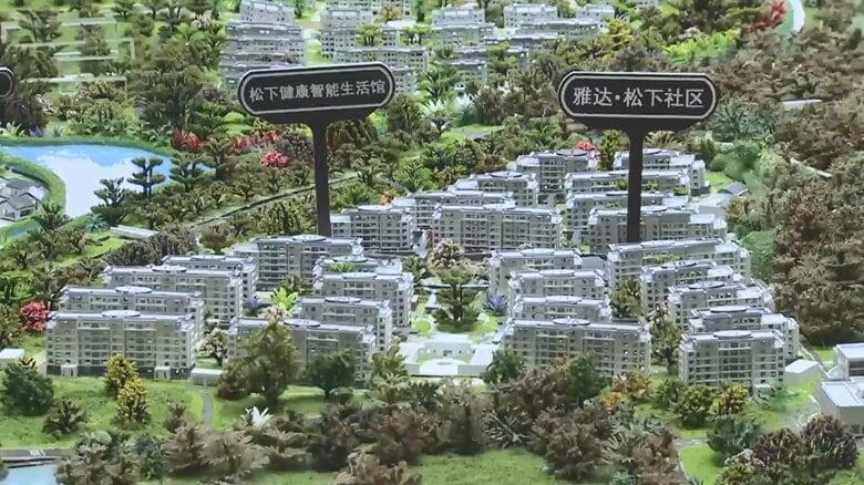 ITトイレで健康管理…「パナソニックの街」誕生へ 高齢化を迎える中国に日本の技術と経験活かす