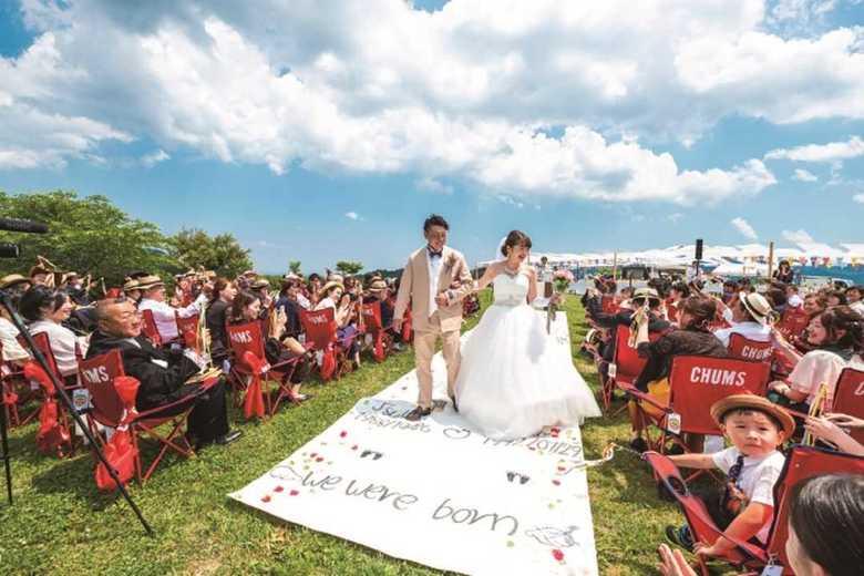 最近の結婚式で注目の「手作りバージンロード」 そこに記されているコトとは?