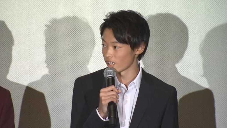 「大物の予感」窪塚洋介長男 愛流(14)初舞台挨拶