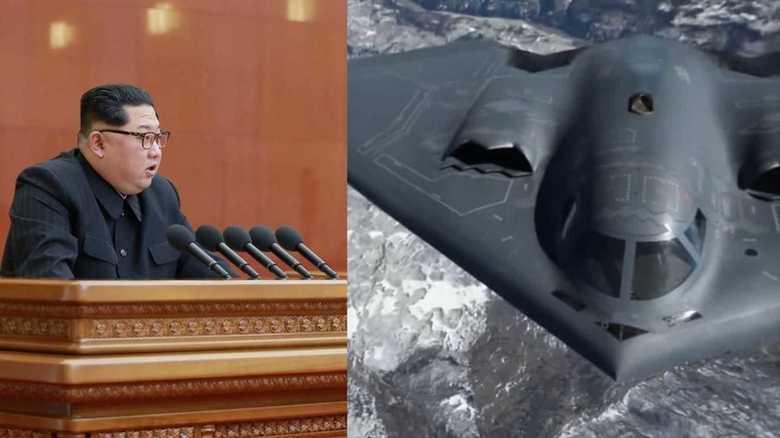 北朝鮮「核実験・ミサイル不用」と発表した日、米国はB-2A戦略爆撃機の大規模演習