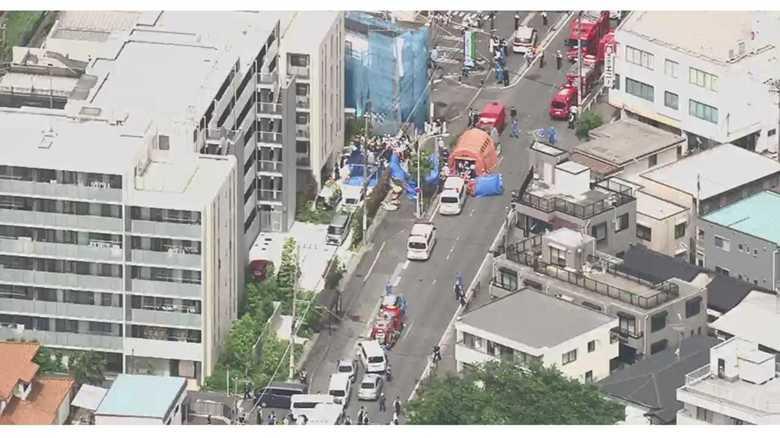 川崎市で小学生ら刺され3人心肺停止 現場はスクールバスの停留所