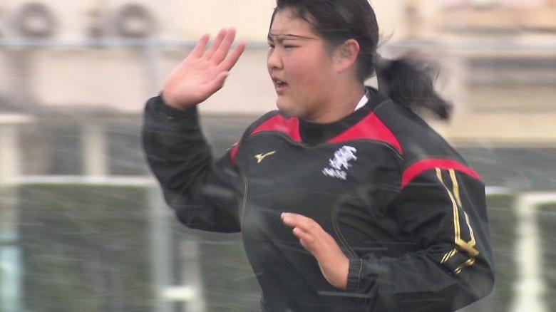 強化メンバー唯一の女子高校生ラグビー選手 目指すは花園…実は「一番乙女」な一面も