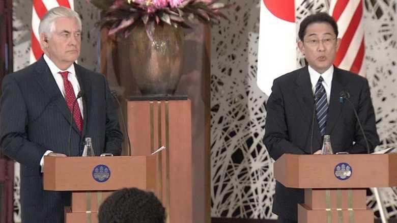 日米外相会談「同盟関係はアジア太平洋地域の礎だ」
