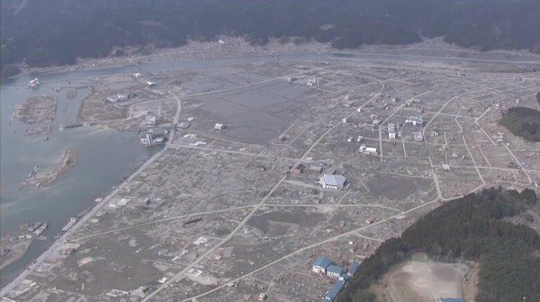 巨大津波で跡形もなくなった街…新たなまちづくりで津波対策【岩手・陸前高田市~大槌町】