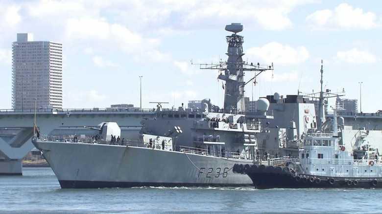 """北朝鮮の脅威が再燃する中、日本を訪れた英 """"瀬取り""""監視フリゲート「モントローズ」の秘めた能力"""