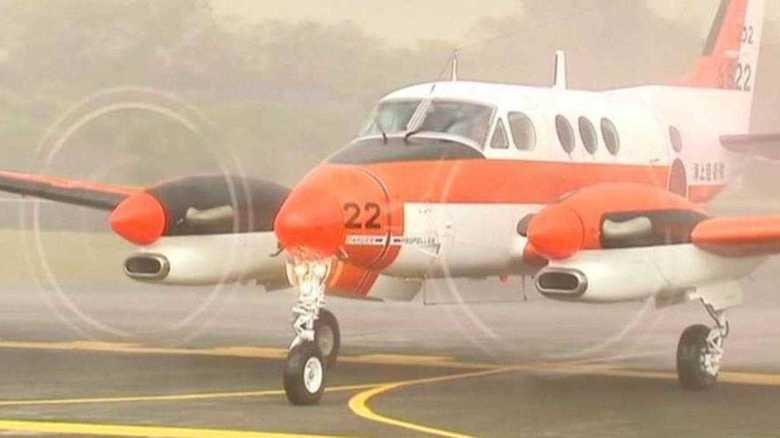 海上自衛隊TC-90型練習機  フィリピンに貸与