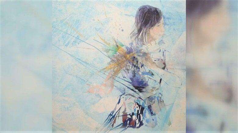音や言葉に色が見える「共感覚」を生かして…和紙に岩絵の具で描く抽象画 39歳が日本画界に吹かせる新しい風