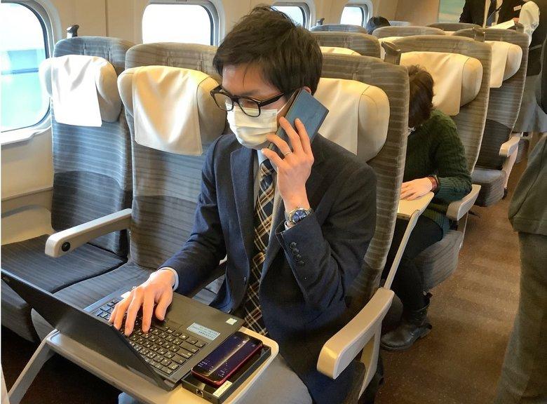 車両内でウェブ会議もOK! 「新幹線オフィス」の実証実験をJR東日本が開始…利用者の感想を聞いた