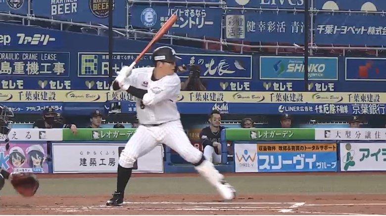 ロッテ中村奨吾「最高の形」初の満塁弾で4年ぶり5連勝!